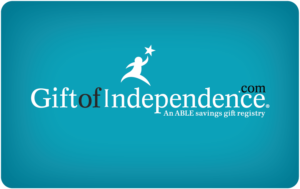 Gift of Independence ABLE Gift Card