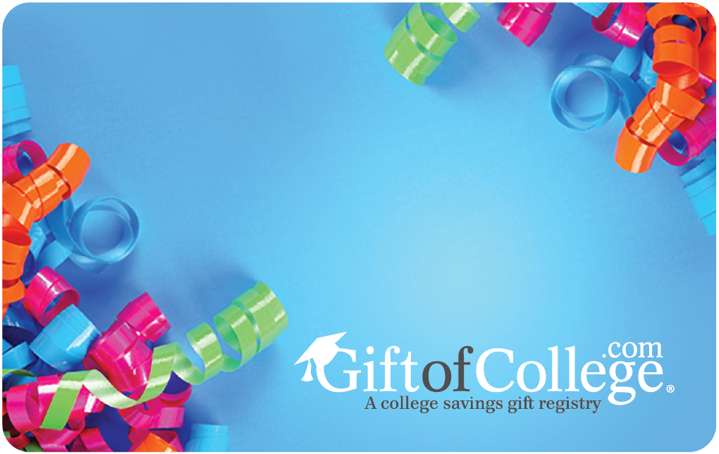 Gift of College Birthday Gift Card