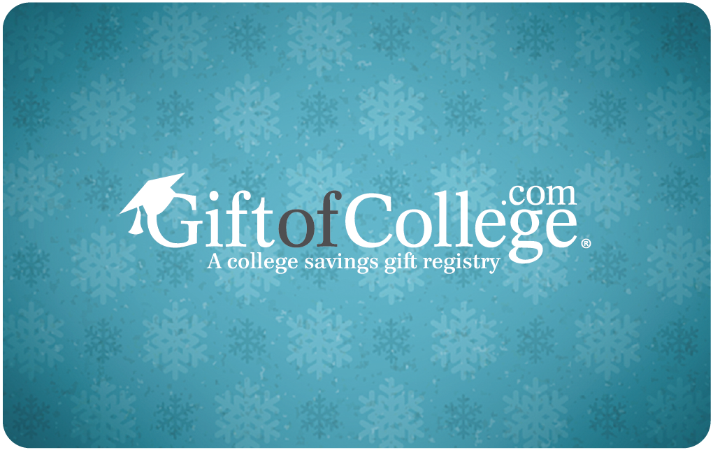 Gift of College Holiday Gift Card