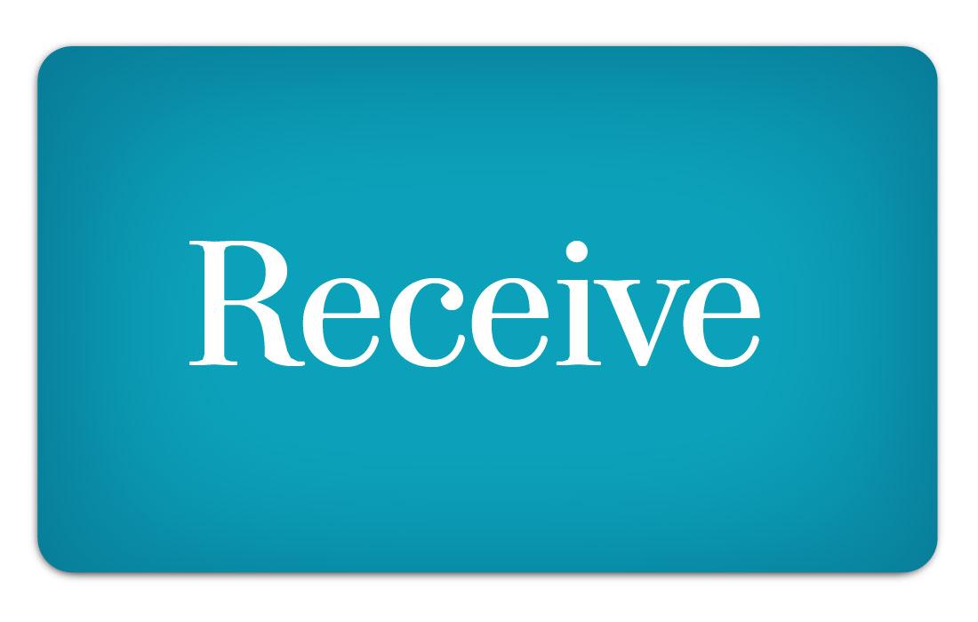 'Receive' image/link