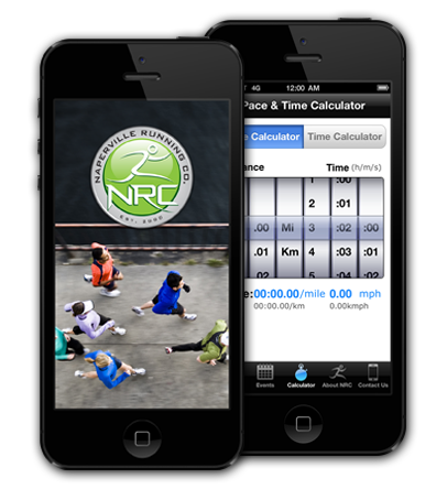 Naperville Running Company iPhone Application
