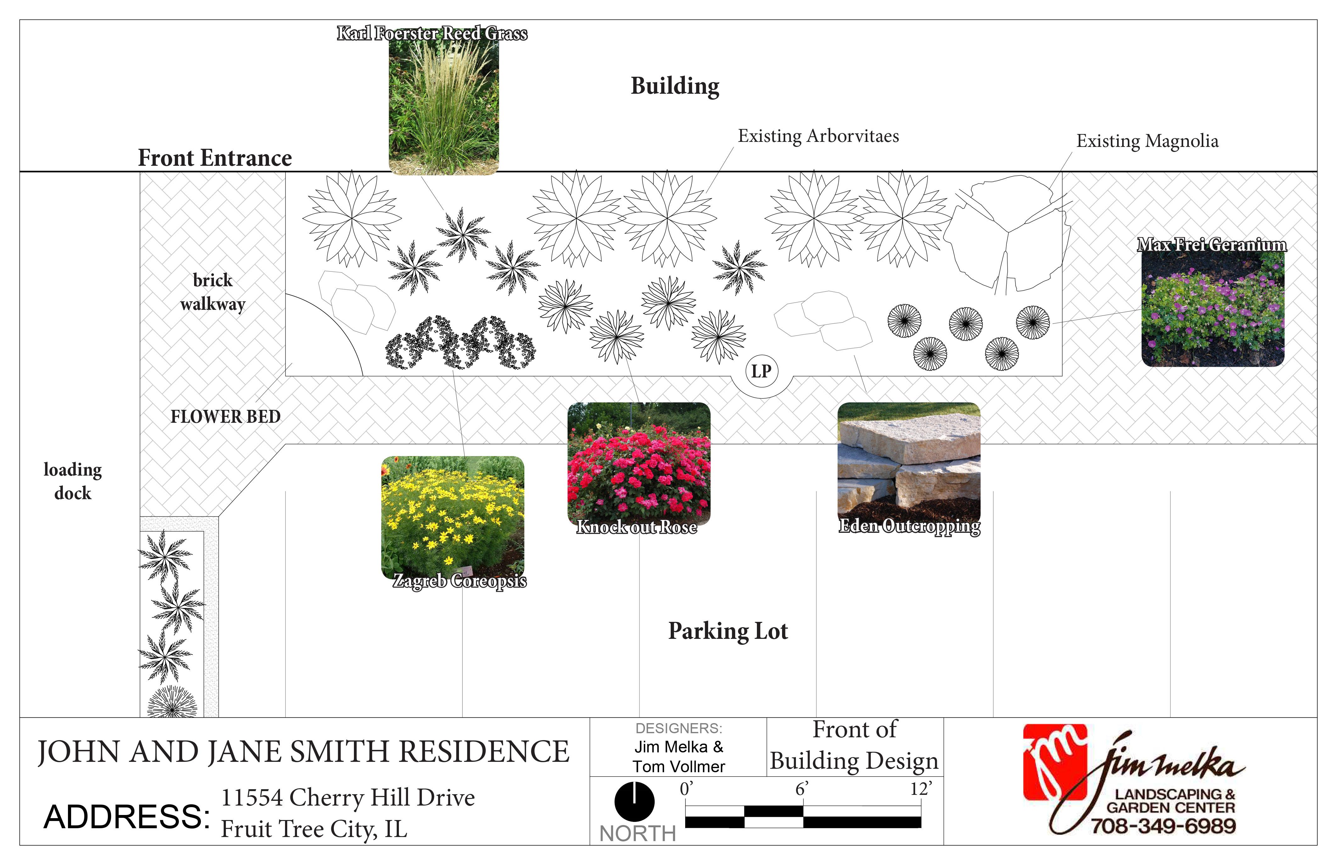 Landscape design for Garden design proposal