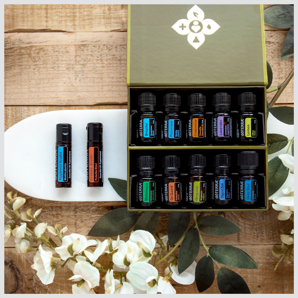 doTERRA essential oil kits to get started with the best essential oils in your home.