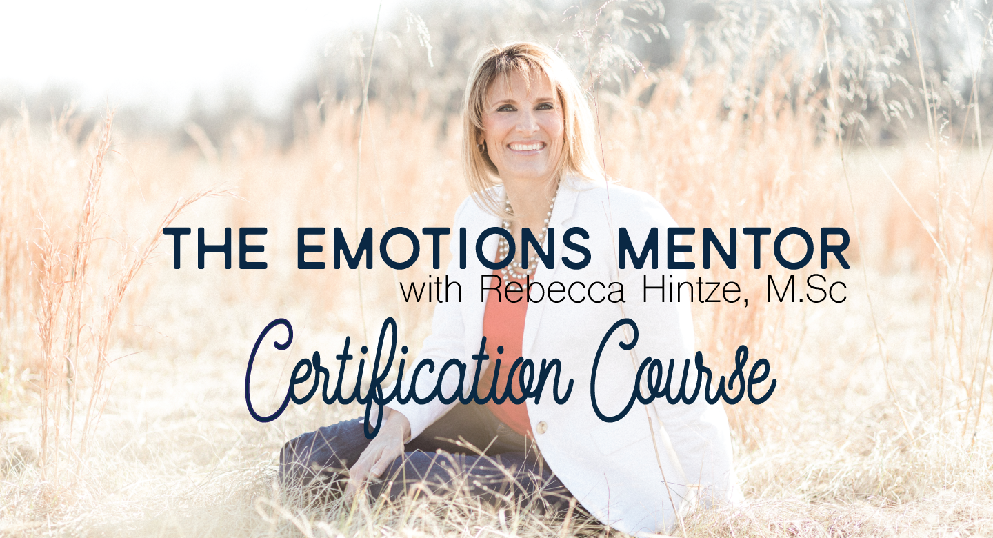 The Emotions Mentor Certification Course