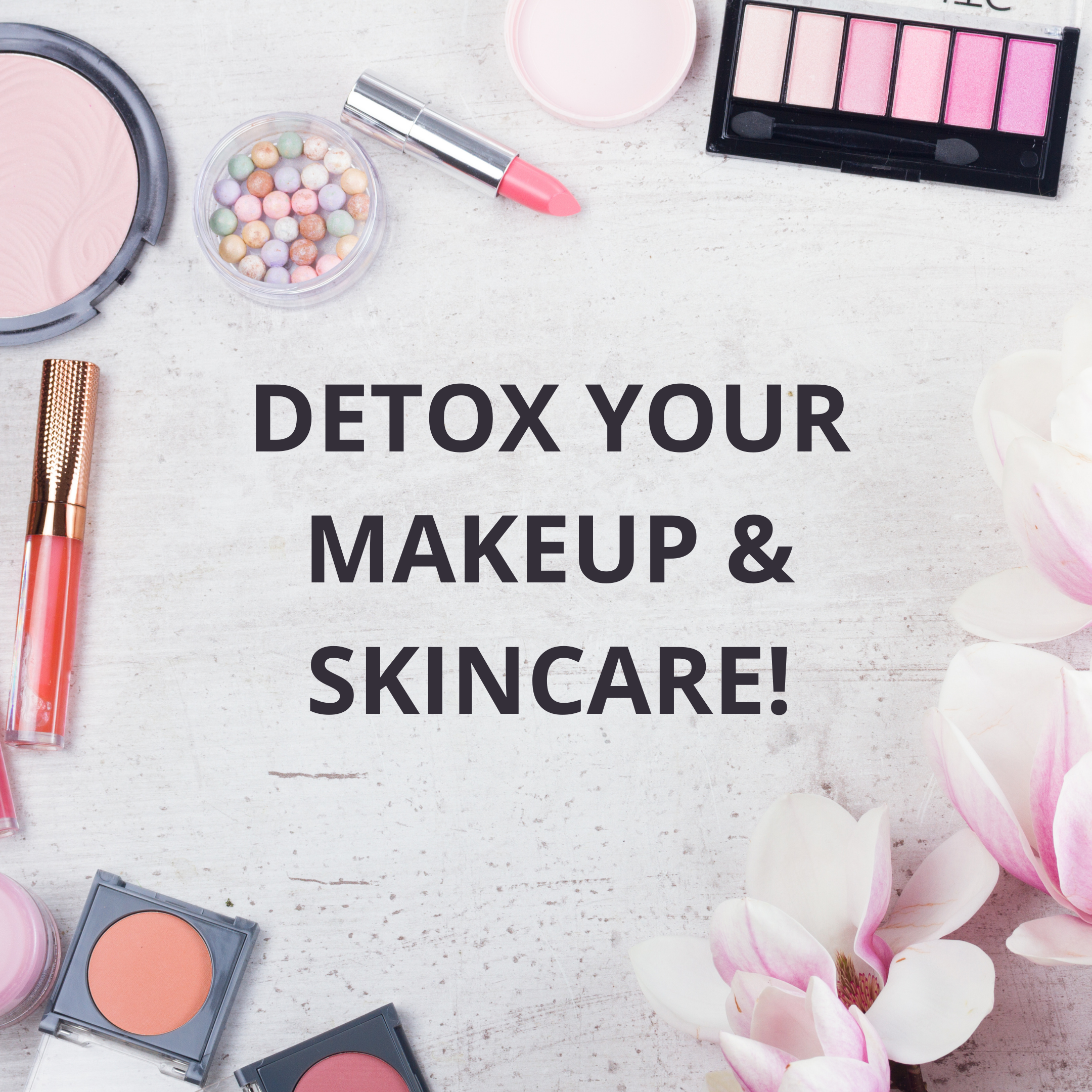 Decrease body burden by swapping out toxic makeup and skincare. Check out my favorite clean beauty brand!
