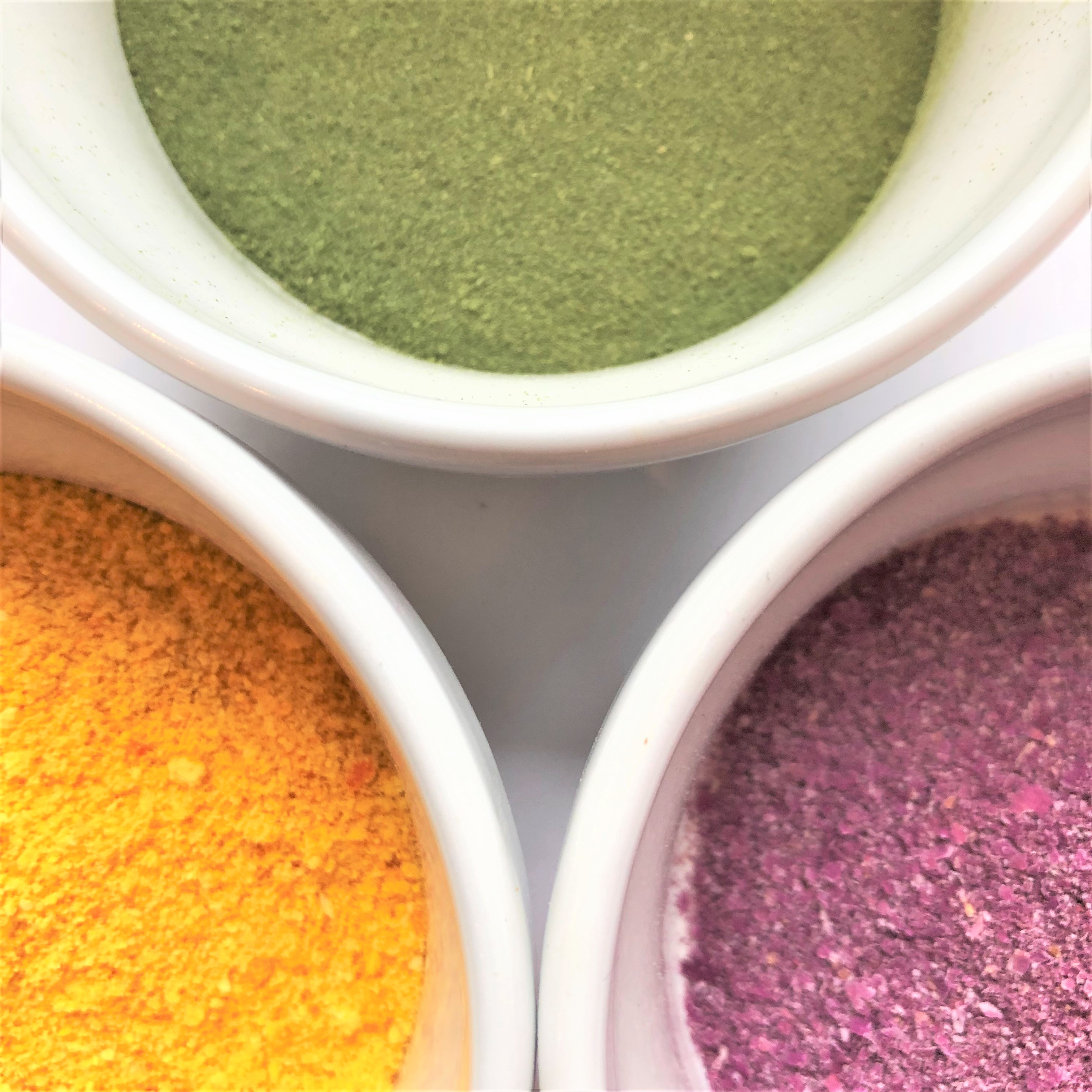 Natural Plant Pigments to Color Bath Bombs