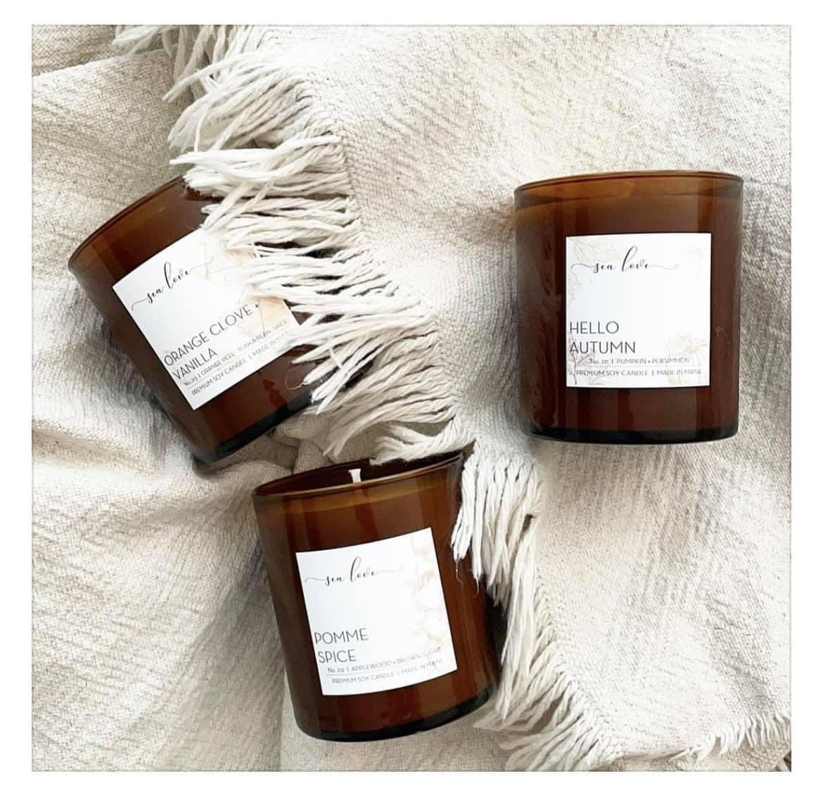 Get 10% off my favorite toxin-free candles using the code HHH10 at checkout!