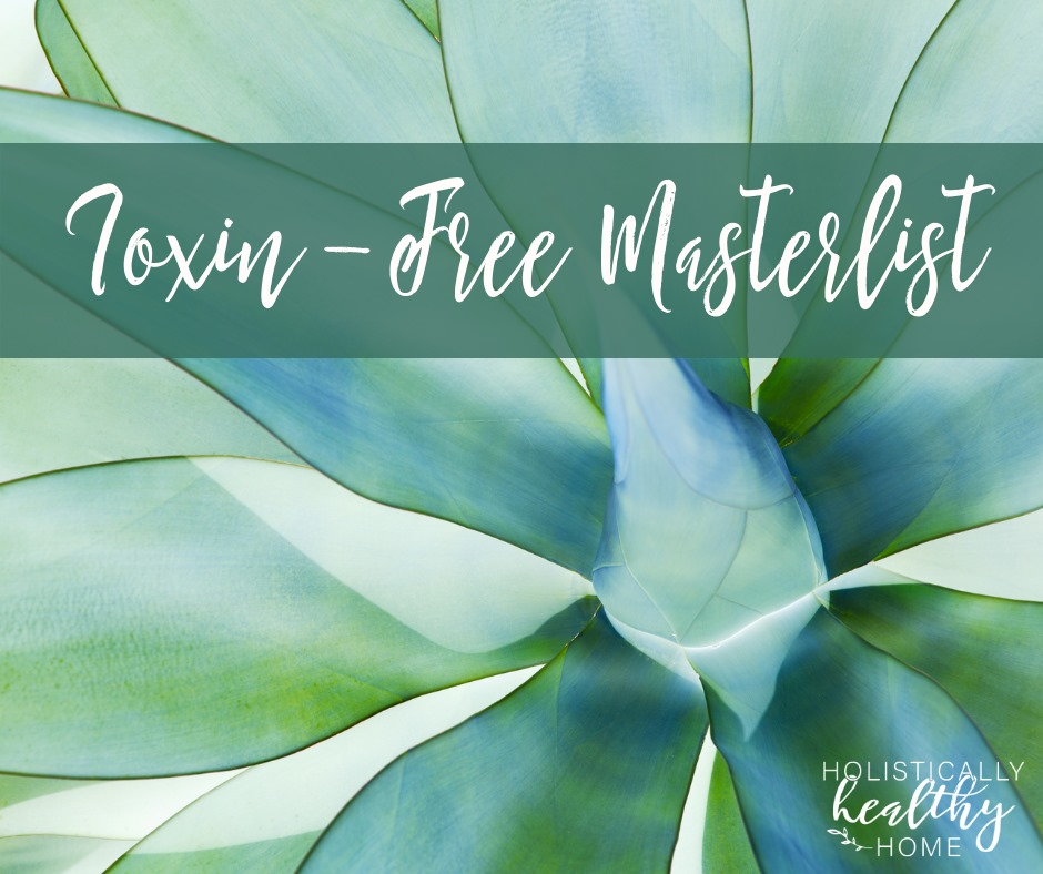 Complete List of Safe, Toxin-Free Products Across Many Categories #safeproducts #toxinfreeproducts #cleanproducts