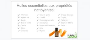 huile essentielle, ménage, nettoyage