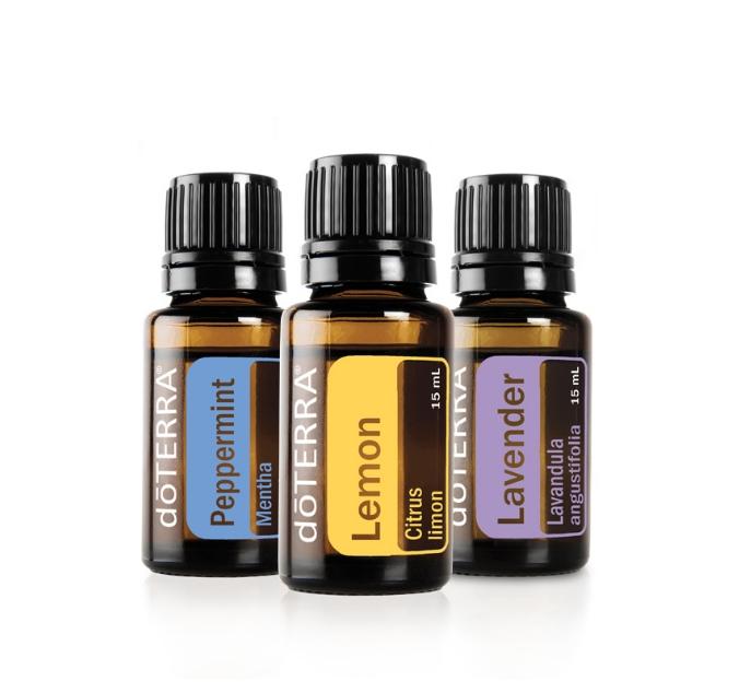 Lavender Lemon Peppermint essential oils