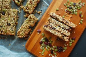 Cranberry protein bars image