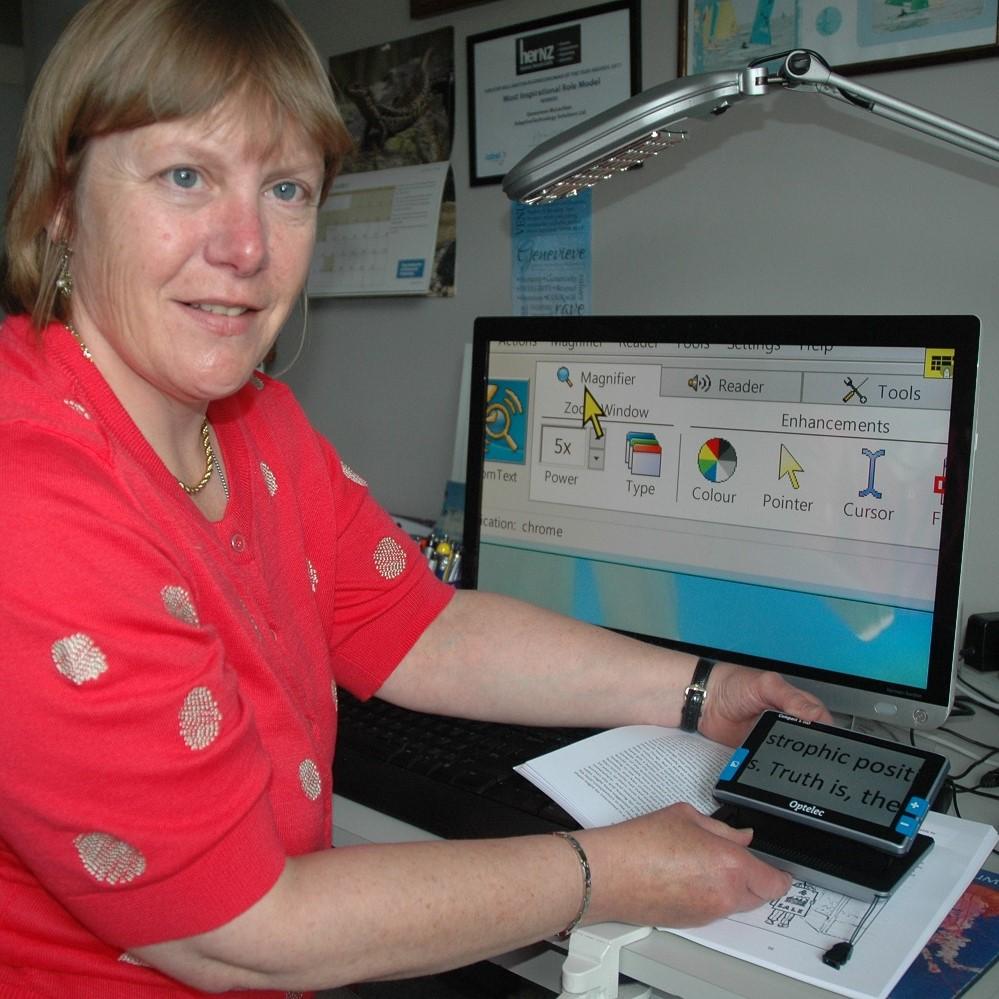 Using assistive technology